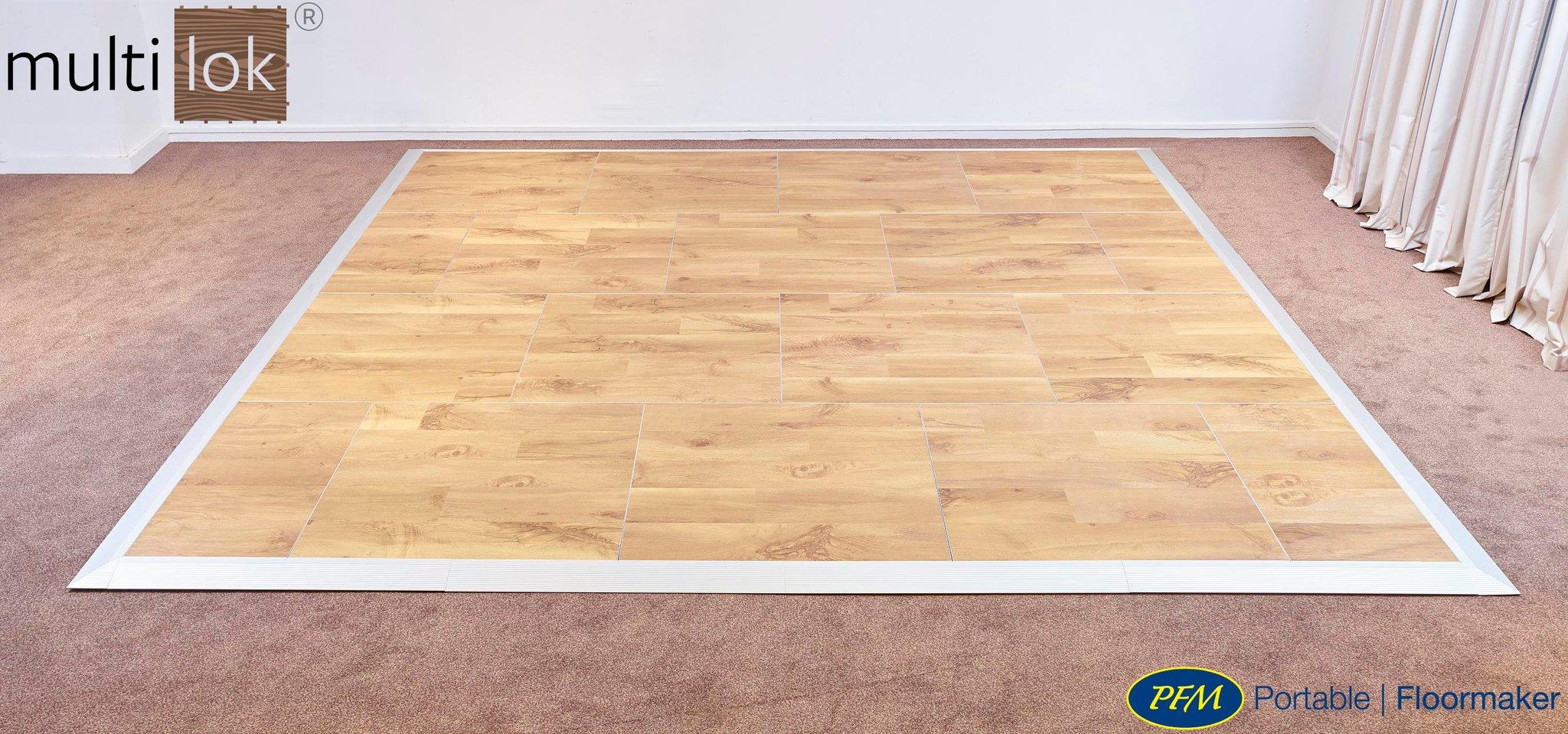portable piece for a dance floor